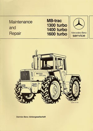 MB-trac 443 Maintenance and Repair - 30 402 26 24 Original - 364021004