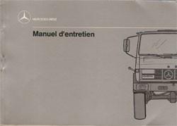 Notice d'entretien Unimog 427 - 6.1988 - 30 403 51 50 Original - 324031013