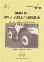Ratgeber Ackerschlepperreifen MB-trac - 30 400 80 11 Original - 304001028