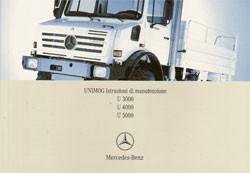 Istruzioni di manutenzione Unimog 437 - 437 584 04 93 Original - 334051009
