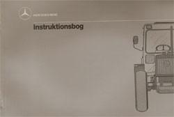Instruktionsbog MB-trac 440 441 - 30 408 51 34 Original - 354081005