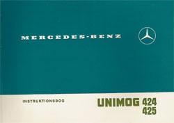 Instruktionsbog Unimog 424 425 - 30 408 51 42 Original - 354081002