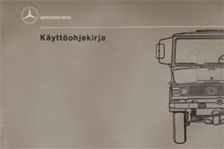 Unimog Käyttöohjekirja 407 - U 600/650/650 L - 30 410 51 17 Original - 354101002
