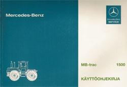 MB-trac Käyttöohjekirja - 30 410 51 26 Original - 354101009