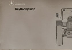 MB-trac Käyttöohjekirja - 30 410 51 35/14 Original - 354101010