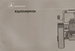 MB-trac Käyttöohjekirja - 30 410 51 35/16 Original - 354101011