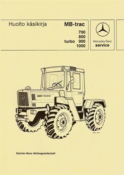 MB-trac Huolto Käsikirja 440 - 30 410 26 21-01 Original - 364101001