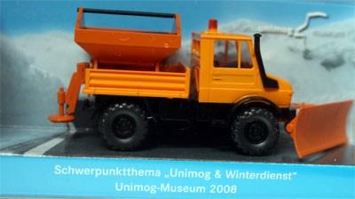 """WIKING-Sondermodell """"Unimog & Winterdienst 2008"""" - 704001018"""