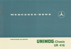 Instrucciones de servicio Unimog-Chasis UR 416 - 30 404 51 07 Original - 344041006