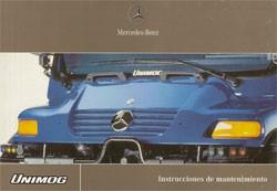 Instrucciones de mantenimiento Unimog 405 - U 300 400 500 - 6518 5252 04 Original - 344041002