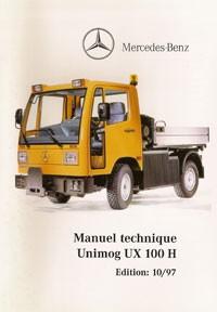 Manuel technique Unimog UX 100 H - 10/97 - Original - 324031018