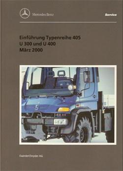 Einführung Typenreihe 405 - U 300 + U 400 - 6518 12 01 00 Original - 364001001