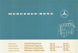 Wartungsheft Industriemotoren OM 314 bis OM 355 A - 6160 4301 40 Original - 364001027