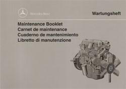 Wartungsheft Industriemotoren OM 364 LA + OM 366 LA - 6462 1000 36 Original - 364001025