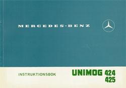 Instruktionsbok Unimog 424 425 - 30 409 51 42 Original - 354091003