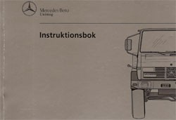 Instruktionsbok Unimog 427 - 30 409 51 50 Original - 354091004