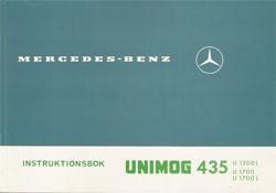 Instruktionsbok Unimog 435 - 30 409 51 45 Original - 354091005
