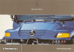 Instruktionsbok Unimog 405 - 6518 5052 09 Original - 354091002