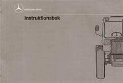 Instruktionsbok MB-trac 440 441 - 30 409 51 34 Original - 354091007