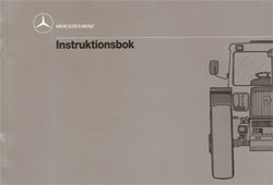 Instruktionsbok MB-trac 443 - 30 409 51 35 Original - 354091009