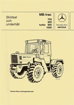 Wartung + Instandhaltung MB-trac 440 441 - 30 409 26 21 Original - 364091001