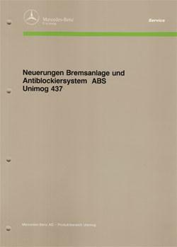 Neuerungen Bremsanlage + ABS Unimog 437 - 30 400 12 10 Original - 364001004