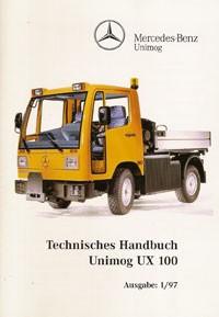 Technisches Handbuch UX 100 - 304001034