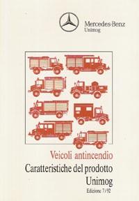 Veicoli antincendio Caratteristiche del prodotto Unimog - 30 406 Original - 334051010