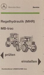 Regelhydraulik (MHR) MB-trac - 30 400 4801-01 Original - 364001016
