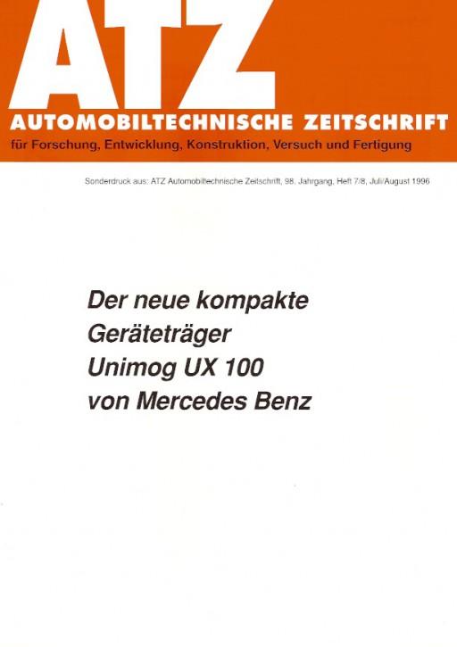 Der neue kompakte Geräteträger UX 100 - 304001041