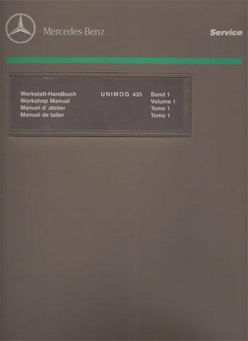 Manuel d'atelier Unimog 435 - 30 403 21 42 Original - 124031005