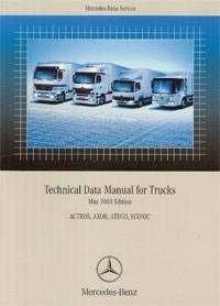 Technical Data Manual for Trucks 2003 - 6517 1506 02 Original - 384021008