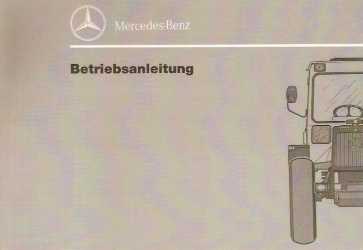 Betriebsanleitung MB-trac 440/441 - 2.1991 - 30 400 51 34 - 304001023