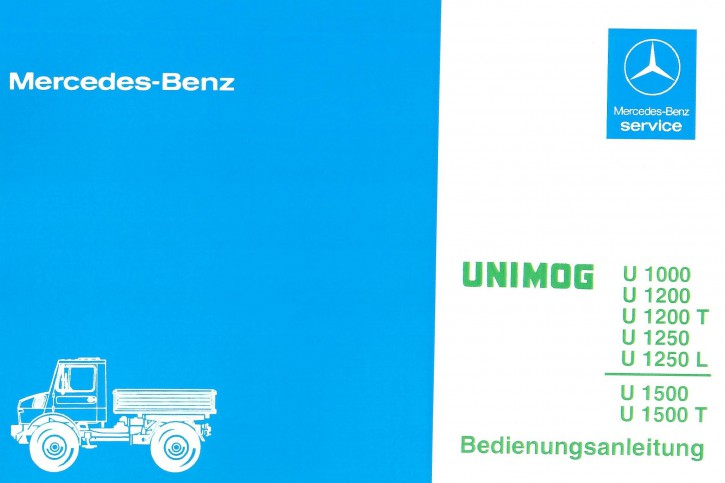 Betriebsanleitung Unimog 424 425 - 30 400 51 47 - 304001013