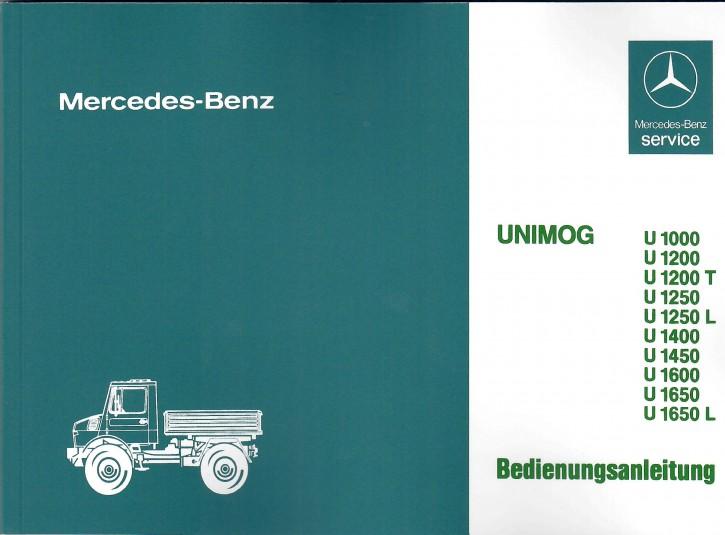 Betriebsanleitung Unimog 427 - 30 400 51 50 - 304001002