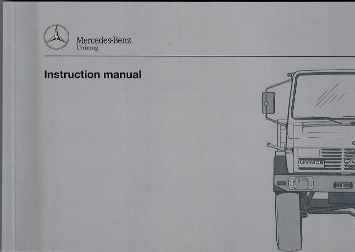 Instruction Manual Unimog 427 / 437  - 36518 5026 02  - 314021047