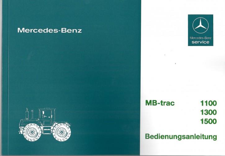 Betriebsanleitung MB-trac 443  - 11.86 - 1100 1300 1500 - 30 400 5126-01 - 304001058