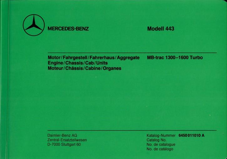 Bildkatalog MB-trac 443 (11010) - 404001027