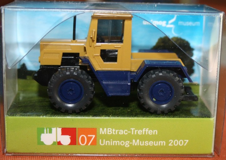 "WIKING-Sondermodell ""MB-trac-Treffen Unimog-Museum 2007 blau"" - 704001022"