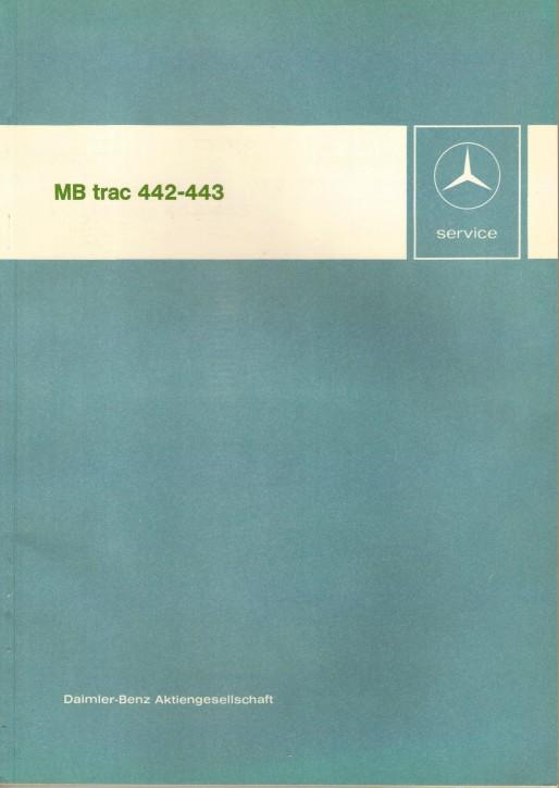 Introducciión al servicio postventa MB-trac 442 443 - 30 404 11 02 Original - 364041002