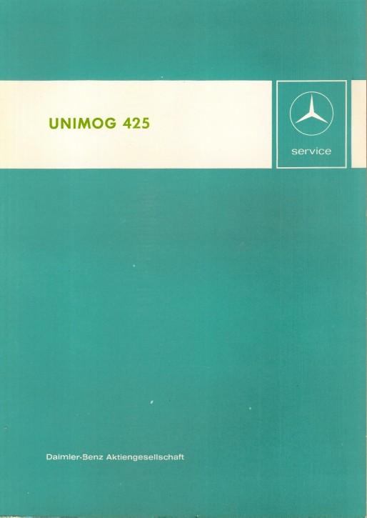 Introducción para el servicio postventa Unimog 425 - 30 404 11 01 Original - 364041001