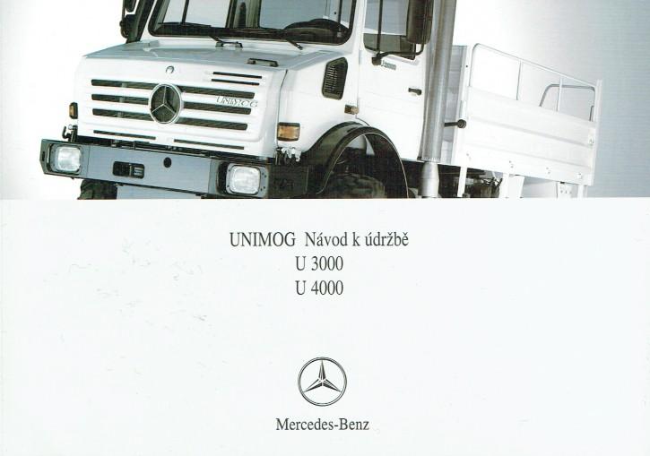 Návod k údržbe - Unimog U 3000 U 4000 - 6518 5254 24 Original - 354241001