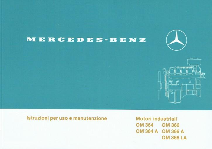 Istruzioni per uso e manutenzione Motori industriali  OM 364 - 366 LA - 6160 1303 06 - 2.1988  Originale - 334051018