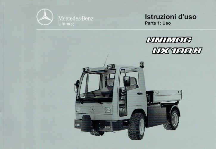 Istruzioni duso  Unimog UX 100 H - Parte 1 - 6518 5036 06 Original - 334051011