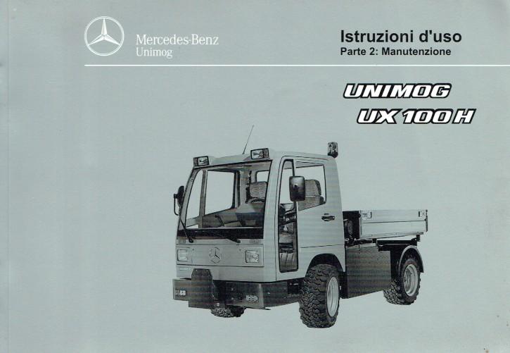 Istruzioni duso  Unimog UX 100 H - Parte 2 - 6518 5037 06 Original - 334051012