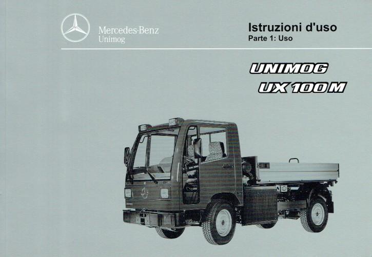 Istruzioni duso Unimog UX 100 M - Parte 1: Uso - 6518 5038 06 Original - 334051013