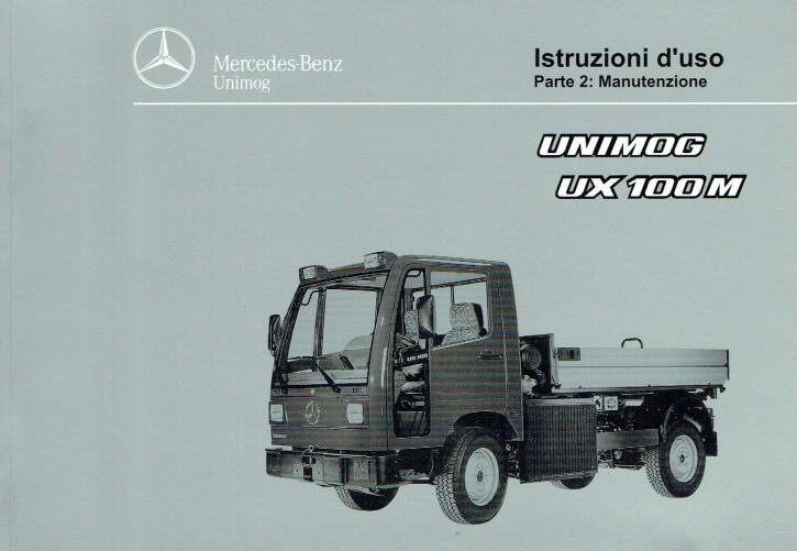 Istruzioni duso Unimog UX 100 M - Teil 2 - 6518 5039 06 Original - 334051014
