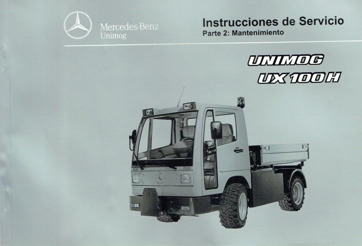 Instrucciones de servicio Unimog UX 100 H Parte 2 - 6518 5037 04 Original - 344041015