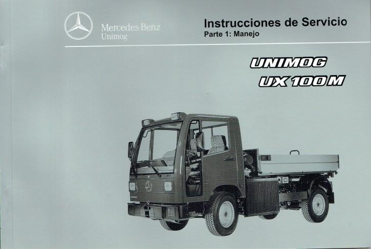 Instrucciones de servicio Unimog UX 100 M Parte 1 - 6518 5038 04 Original - 344041016