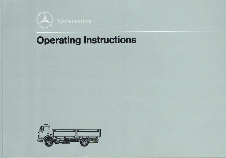 Operating Instructions Trucks 1013 1017 1213 1217 1413 1417 1613 1617 - 6550 7411 02 Original - 314021045